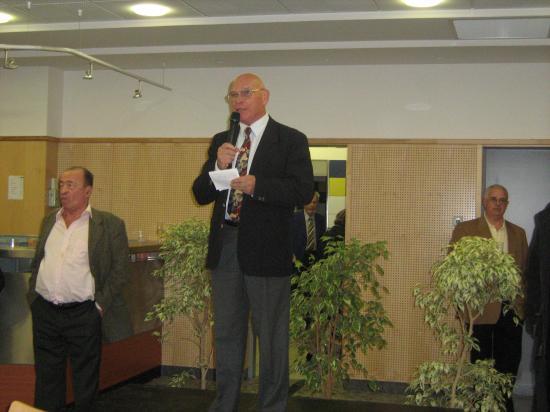 Jean VIGUIER,le Président du Club de Bridge