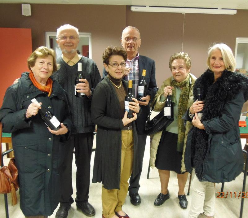 Les lauréats du tournoi Vin Nouveau